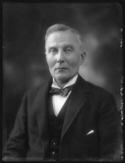 Herbert Albert Laurens Fisher, by Bassano Ltd - NPG x74706