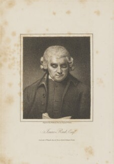 Isaac Reed, by Samuel Freeman, published by  Vernor, Hood & Sharpe, after  George Romney - NPG D14505