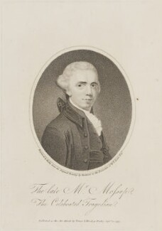 Henry Mossop, by William Ridley, published by  Vernor & Hood, after  John Hamilton Mortimer - NPG D14506