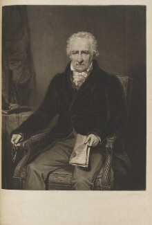John Bell, by Thomas Goff Lupton, after  George Clint - NPG D14510