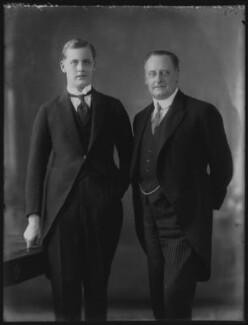 William Lygon, 8th Earl Beauchamp; William Lygon, 7th Earl Beauchamp, by Bassano Ltd - NPG x37102