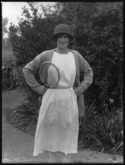 Phyllis Helen Satterthwaite (née Carr), by Bassano Ltd - NPG x37240