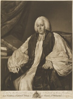 Frederick Cornwallis, by Edward Fisher, published by  Robert Sayer, after  Nathaniel Dance (later Sir Nathaniel Holland, Bt) - NPG D14516