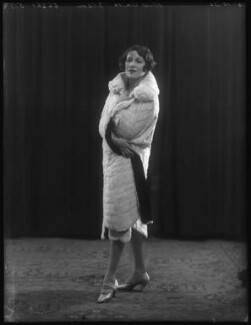 Anita Elson, by Bassano Ltd, 15 October 1925 - NPG x74711 - © National Portrait Gallery, London