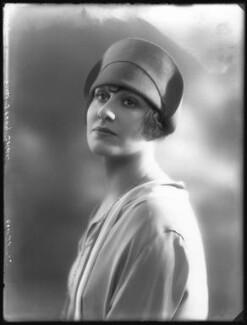 Jenny Golder (Rosie Sloman), by Bassano Ltd - NPG x37267