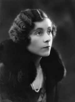Dame Barbara Hamilton Cartland, by Bassano Ltd - NPG x18826