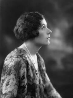 Dame Barbara Hamilton Cartland, by Bassano Ltd - NPG x18827
