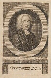 Christopher Pitt, by Michael Vandergucht - NPG D14520