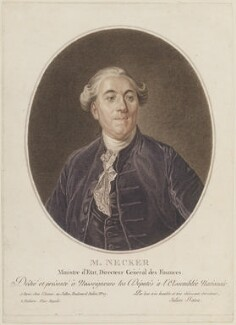 Jacques Necker, by Julien Fatou, after  Joseph Siffred Duplessis - NPG D14523