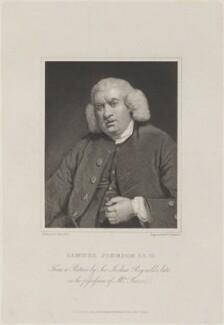 Samuel Johnson, by William Camden Edwards, published by  W. Walker, after  George Clint, after  Sir Joshua Reynolds - NPG D14528