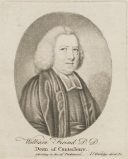 William Freind, by Thomas Worlidge - NPG D14529