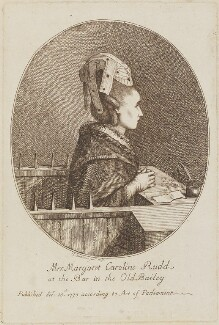 Margaret Caroline Rudd (née Youngson), by Gaetano Stefano Bartolozzi, after  Unknown artist - NPG D14537