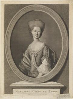 Margaret Caroline Rudd (née Youngson), by G. Sibelius, published by  William Humphrey, after  Daniel Dodd - NPG D14538