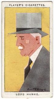 Martin Bladen Hawke, 7th Baron Hawke, by Alexander ('Alick') Penrose Forbes Ritchie - NPG D18016