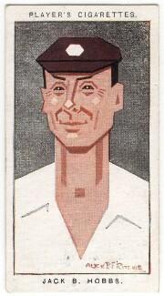 Sir Jack Hobbs, by Alexander ('Alick') Penrose Forbes Ritchie, 1926 - NPG D18017 - © National Portrait Gallery, London