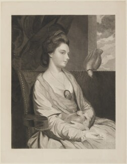 Kitty Fisher, by William Humphrys, after  Sir Joshua Reynolds - NPG D14540