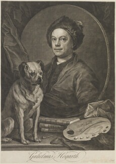 William Hogarth, by William Hogarth - NPG D14543