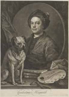 William Hogarth, by William Hogarth, 1749 (1745) - NPG D14543 - © National Portrait Gallery, London