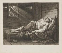 'Death of Chatterton' (Thomas Chatterton), after Raphael Lamar West - NPG D14545