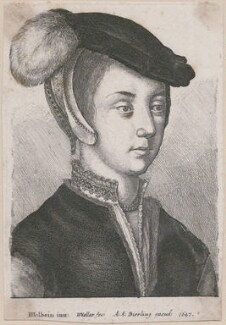 Unknown woman, by Wenceslaus Hollar, after  Hans Holbein the Younger - NPG D18024