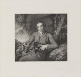 Sir John Lade, 2nd Bt, by Frederick Bromley, published by  Henry Graves, after  Sir Joshua Reynolds - NPG D14547