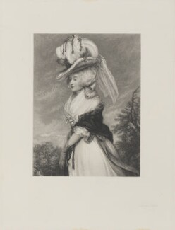 Lady Laetitia Lade (née Smith), by Frederick Bromley, after  Sir Joshua Reynolds - NPG D14548