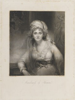 Mary (née Palmer), Marchioness of Thomond, by William Bond, after  Sir Thomas Lawrence - NPG D14550