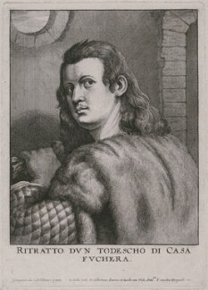possibly Anton Fugger, by Wenceslaus Hollar, probably after  Sebastiano del Piombo - NPG D18031