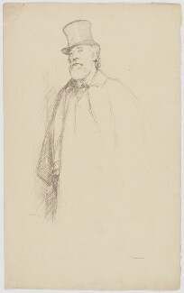 Alphonse Legros, by William Rothenstein - NPG D18050