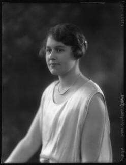 Hon. Phyllis Helen Pease, by Bassano Ltd - NPG x36502