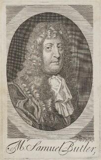 Samuel Butler, by Michael Vandergucht, after  Sir Peter Lely - NPG D14554