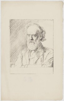 Alphonse Legros, by William Rothenstein - NPG D18051