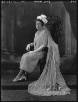 Edith Mary (née Parker), Duchess of Somerset, by Bassano Ltd - NPG x36518