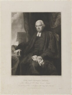 Edward Embry, by and published by Edward Scriven, after  Henry Perronet Briggs - NPG D14557