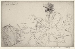 Alphonse Legros, by William Strang - NPG D18052