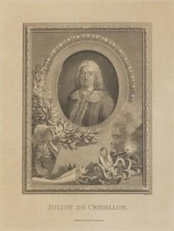 Prosper Jolyot de Crebillon, by William Walker, published by  George Kearsley - NPG D14558