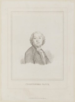 Christoph Willibald Glück, published by W. Pinnock - NPG D14559