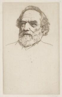 Alphonse Legros, by Sir Charles Holroyd - NPG D18053