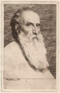Alphonse Legros, by Joseph Benwell Clark - NPG D18054