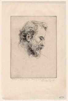 Alphonse Legros, by George Frederic Watts, circa 1879 - NPG D18060 - © National Portrait Gallery, London