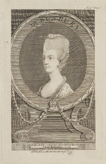 Catherine Bunbury (née Horneck), by Unknown artist - NPG D14570
