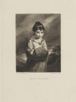 Theophila Gwatkin (née Palmer), by and published by Samuel William Reynolds, after  Sir Joshua Reynolds - NPG D14573