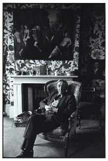 Sir Alfred Jules Ayer, by Geoff Howard, May 1978 - NPG x126100 - © Geoff Howard / National Portrait Gallery, London