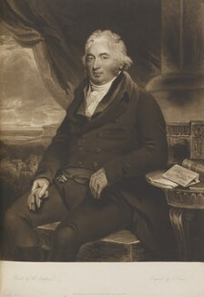 John Fuller, by and published by Charles Turner, after  Henry Singleton - NPG D14588