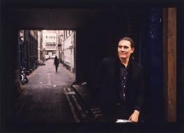Stephen Woolley, by Geoff Howard, October 1990 - NPG x126106 - © Geoff Howard / National Portrait Gallery, London