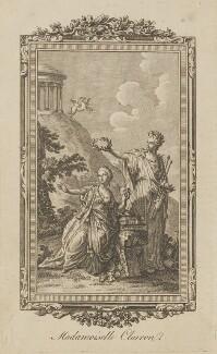 Claire Josèphe Hippolyte Léris de la Tude ('Mademoiselle Clairon'), by Unknown engraver - NPG D14590