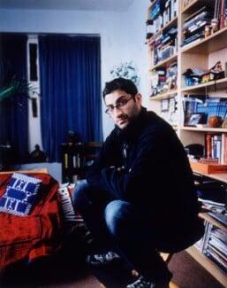 Asif Kapadia, by James Galloway, February 2003 - NPG  - © James Galloway