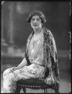 Lady Clare Annesley, by Bassano Ltd, 23 June 1926 - NPG x34974 - © National Portrait Gallery, London