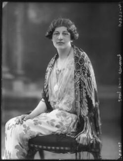 Lady Clare Annesley, by Bassano Ltd, 23 June 1926 - NPG x34974 - © National Portrait Gallery, London