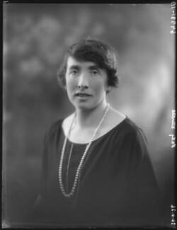 Dorothy Mary Mowbray (née Sayer), Lady Sturdee, by Bassano Ltd - NPG x34975